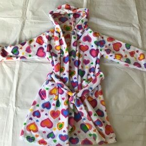 Total Girl Belted Fleece Robe XS (4-5)